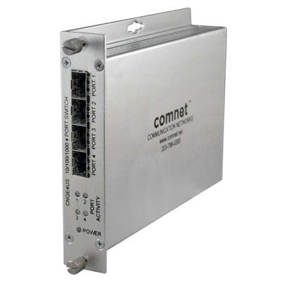 ComNet CNGE4US 10/100/1000 Mbps 4 Port Ethernet unmanaged switch