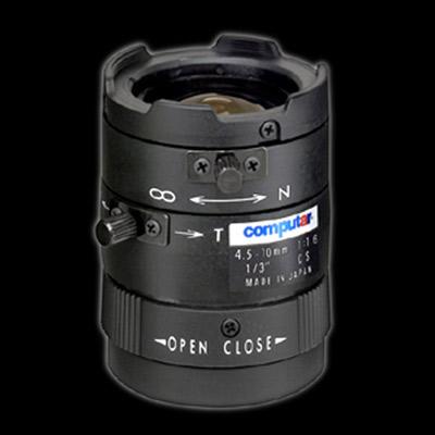 """Computar H2Z4516CS 1/2"""" varifocal CCTV lens with manual iris"""