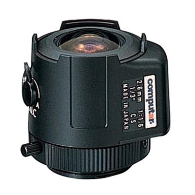 Computar TG2616AFCS-3 1/3'' CCTV camera lens with CS mount and auto iris