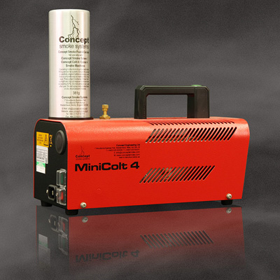 Concept Engineering Ltd MiniColt 4 compact and robust portable smoke system