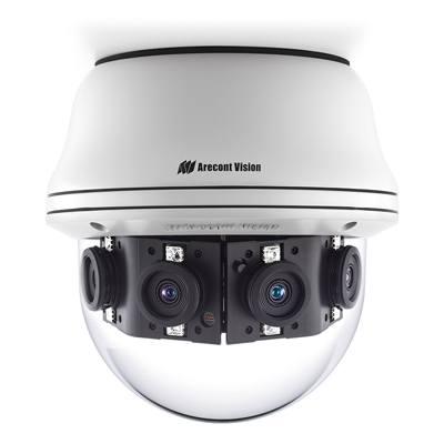 Arecont Vision announces Contera multi-sensor megapixel camera series