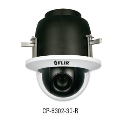 FLIR Systems CP-6302-30-R Quasar Full HD IP PTZ Camera (Recessed w/ Bubble)
