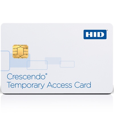 HID Crescendo Temporary Access Card - dual interface smart card