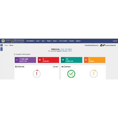 CyberLock CyberAudit-Web Enterprise Management Software