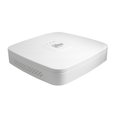 Dahua DH-NVR1104-P 4 channel network video recorder with 1080P real-time live view