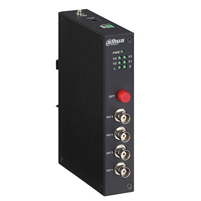Dahua Technology PFO2410T 4-channel HDCVI optical transceiver