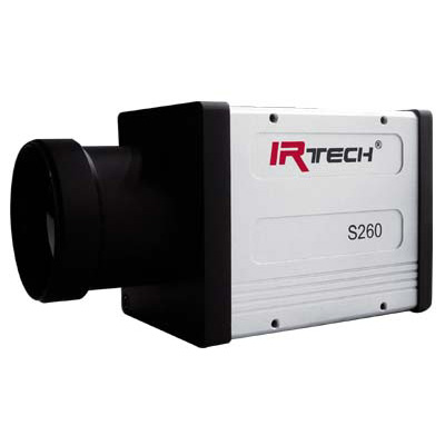 DALI S260-384 thermal imaging CCTV camera with multiple video channel combined output
