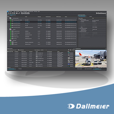 Dallmeier presents PService3 configuration tool for VideoIP systems