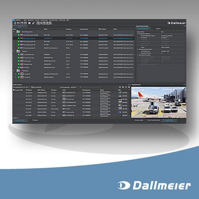 Dallmeier PService3 CCTV software