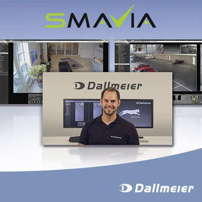 Dallmeier releases new tutorial videos on viewing software Smavia Viewing Client