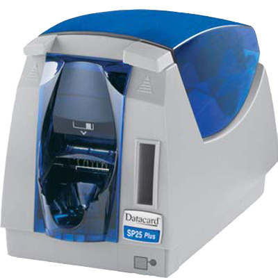 Datacard SP25 PLUS CARD PRINTER with flexible dual-function printing