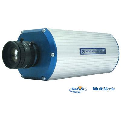 Dedicated Micros CamVu 2000 - a powerful, rapidly deployable, high-resolution IP CCTV camera