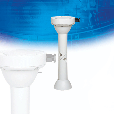 Dedicated Micros (Dennard) DM/90002 extended dome mount for 2060 dome cameras
