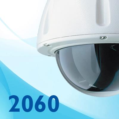 Dedicated Micros DM/2060-200 x18 optical zoom indoor dome camera