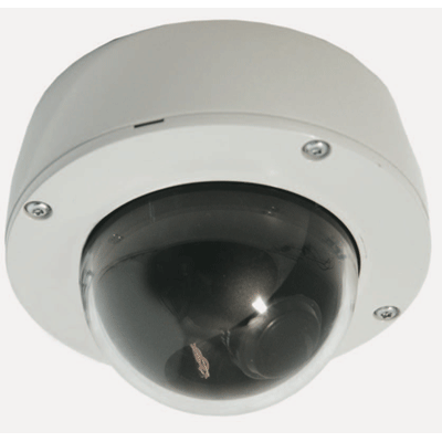 Dedicated Micros DM/CMVU-VDN dome camera suitable for indoor or outdoor use