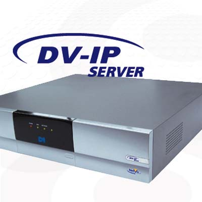 Dedicated Micros DV-IP Server with 12 channels and 750 GB HDD