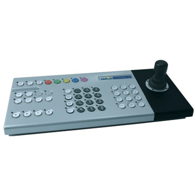 Dedicated Micros DM/DVPB/CON telemetry transmitters and controllers with remote IP enabled keyboard