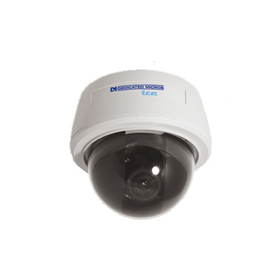 Dedicated Micros DM/ICEDVC-BH39 is a vandal resistant monochrome camera with 570 TVL