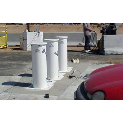Delta Scientific DSC701 M manual bollard barricade system