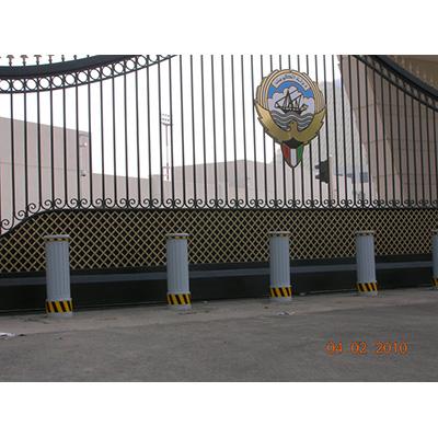 Delta Scientific DSC720 Hydraulic Bollard Barricade System