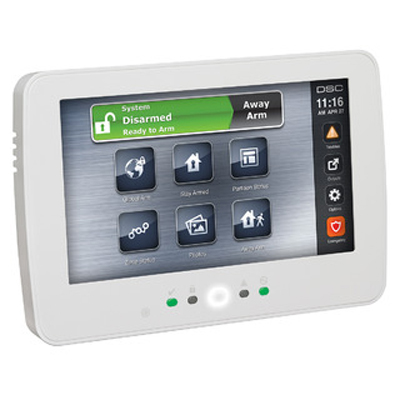 DSC HS2TCHP touchscreen keypad