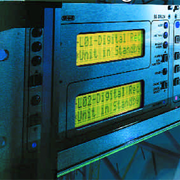 DSC MLR-2000 coax-twisted pair receiver
