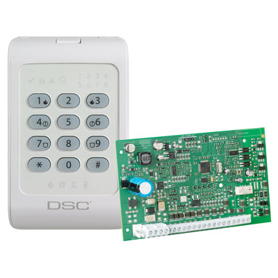 DSC introduces the PowerSeries PC1404 control panel and keypad