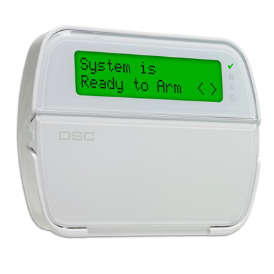 DSC RFK5564 - powerSeries 64-Zone LCD full-message keypad with built-In wireless receiver, 64 zones