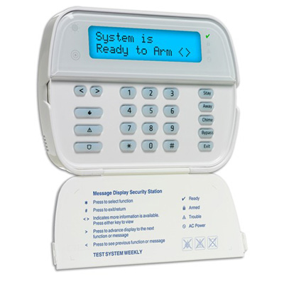 DSC WT5500B 2-way wireless wire-free keypad