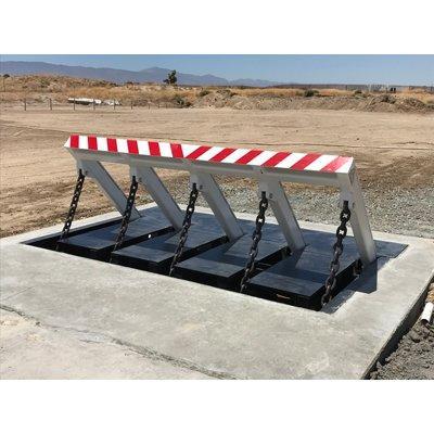 M50/P1 DSC550 Open Frame Vehicle Barrier
