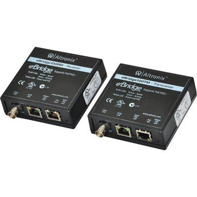 Altronix EBridge100RMT EoC Or Long Range Ethernet Single Port Adapter Kit
