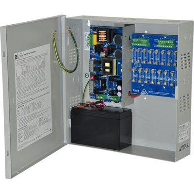 Altronix eFlow102N16V Power Supply Charger, 16 Fused Outputs, 12VDC @ 10A, Aux Output, FAI, LinQ2 Ready, 220VAC, BC300 Enclosure