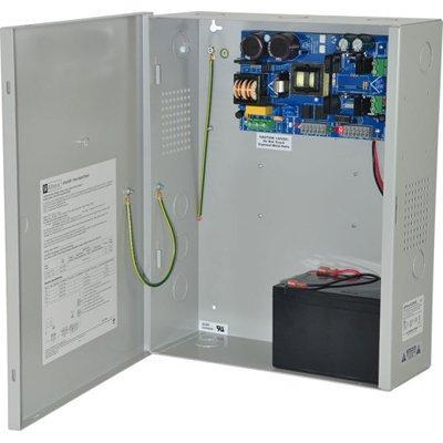 Altronix eFlow102NX Power Supply Charger, Single Output, 12VDC @ 10A, Aux Output, FAI, LinQ2 Ready, 115VAC, BC400 Enclosure