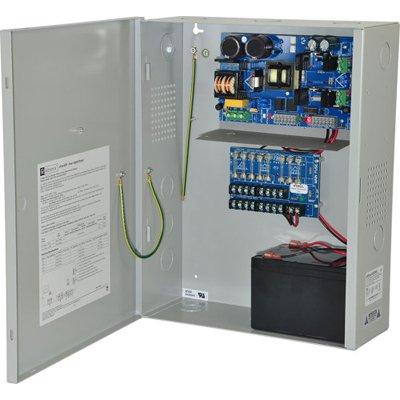 Altronix eFlow102NX8V Power Supply Charger, 8 Fused Outputs, 12VDC @ 10A, Aux Output, FAI, LinQ2 Ready, 220VAC, BC400 Enclosure