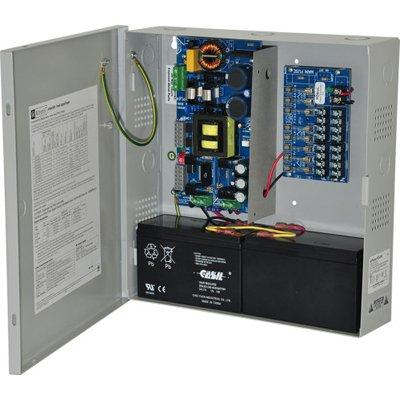 Altronix eFlow104N8V Power Supply Charger, 8 Fused Outputs, 24VDC @ 10A, Aux Output, FAI, LinQ2 Ready, 220VAC, BC300 Enclosure