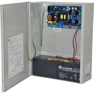 Altronix eFlow104NX Power Supply Charger, Single Output, 24VDC @ 10A, Aux Output, FAI, LinQ2 Ready, 115VAC, BC400 Enclosure