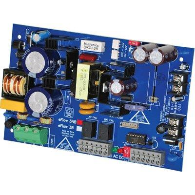 Altronix eFlow3NB Power Supply Charger, Single Output, 12/24VDC @ 2A, Aux Output, FAI, LinQ2 Ready, 115VAC, Board