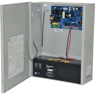 Altronix eFlow3NX Power Supply Charger, Single Output, 12/24VDC @ 2A, Aux Output, FAI, LinQ2 Ready, 115VAC, BC400 Enclosure