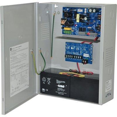 Altronix eFlow3NX4D Power Supply Charger, 4 PTC Class 2 Outputs, 12/24VDC @ 2A, Aux Output, FAI, LinQ2 Ready, 115VAC, BC400 Enclosure
