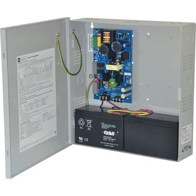 Altronix eFlow4N Power Supply Charger, Single Output, 12/24VDC @ 4A, Aux Output, FAI, LinQ2 Ready, 115VAC, BC300 Enclosure