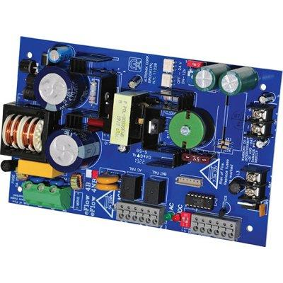 Altronix eFlow4NB Power Supply Charger, Single Output, 12/24VDC @ 4A, Aux Output, FAI, LinQ2 Ready, 115VAC, Board