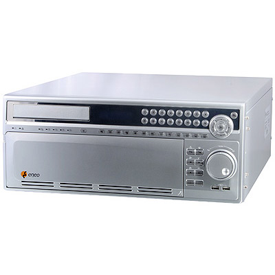 eneo DPR-2016/500D: High-end digital recorder with pentaplex operation