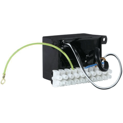 eneo NE-115 power supply and battery with terminal block connection