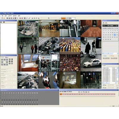 eneo NT-MANAGER CCTV software with multiple search functions