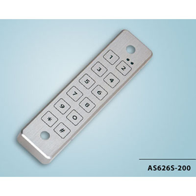 Everswitch AS-626S-200 surface mounted electronic keypad from Baran Advanced Technologies