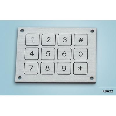 Everswitch KBA22 Piezoelectric keypad from Baran Advanced Technologies