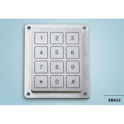 Everswitch KBA33 Piezoelectric keypad from Baran Advanced Technologies