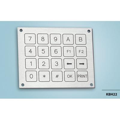 Everswitch KBH22 Piezoelectric keypad from Baran Advanced Technologies
