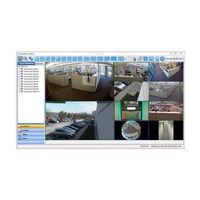 exacqVision Edge+ video management software