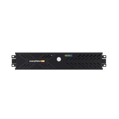 exacqVision IP08-48T-2Z-2 rackmount 2U IP recorder
